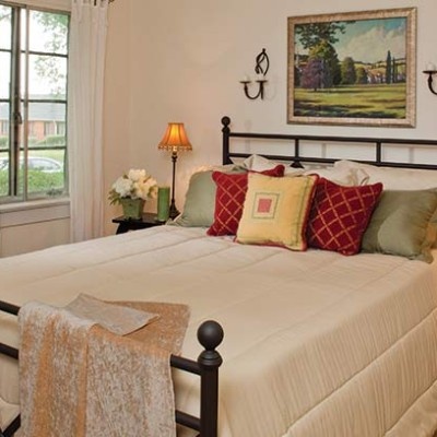 Bedroom at Sedgefield duplexes