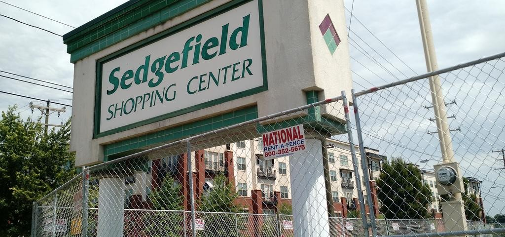 Sedgefield Shopping Center redevelopment project