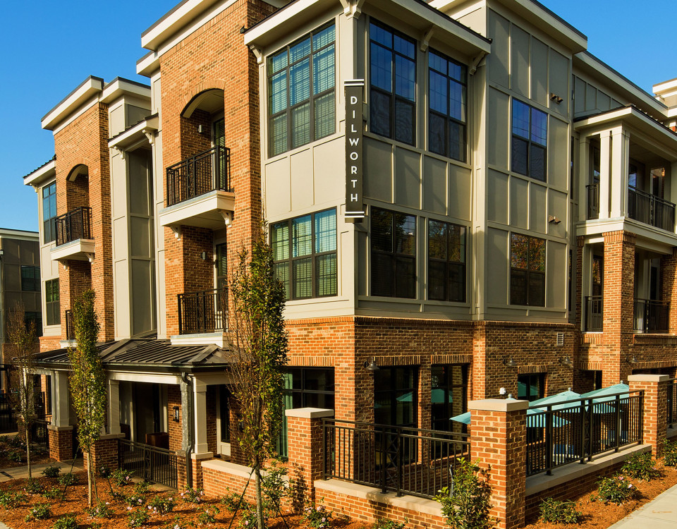 The Lexington Dilworth Charlotte Nc Luxury Apartments