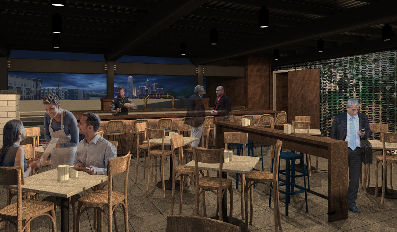 The Waterman Seafood and Oyster Bar design concept