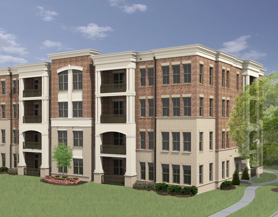 Providence Flats Apartments Rendering
