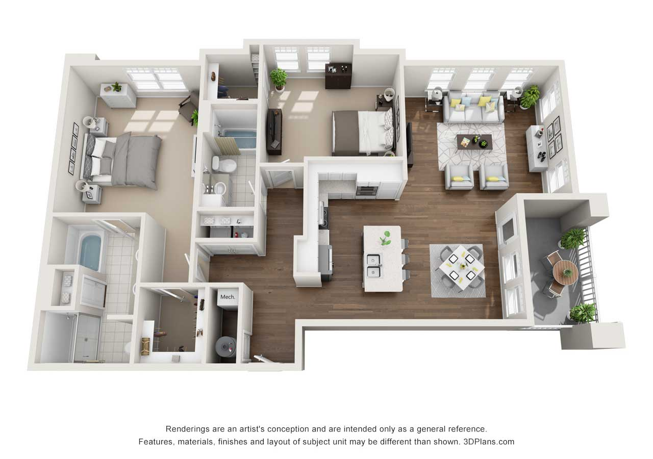 Providence Flats Apartments Floorplan The Providence